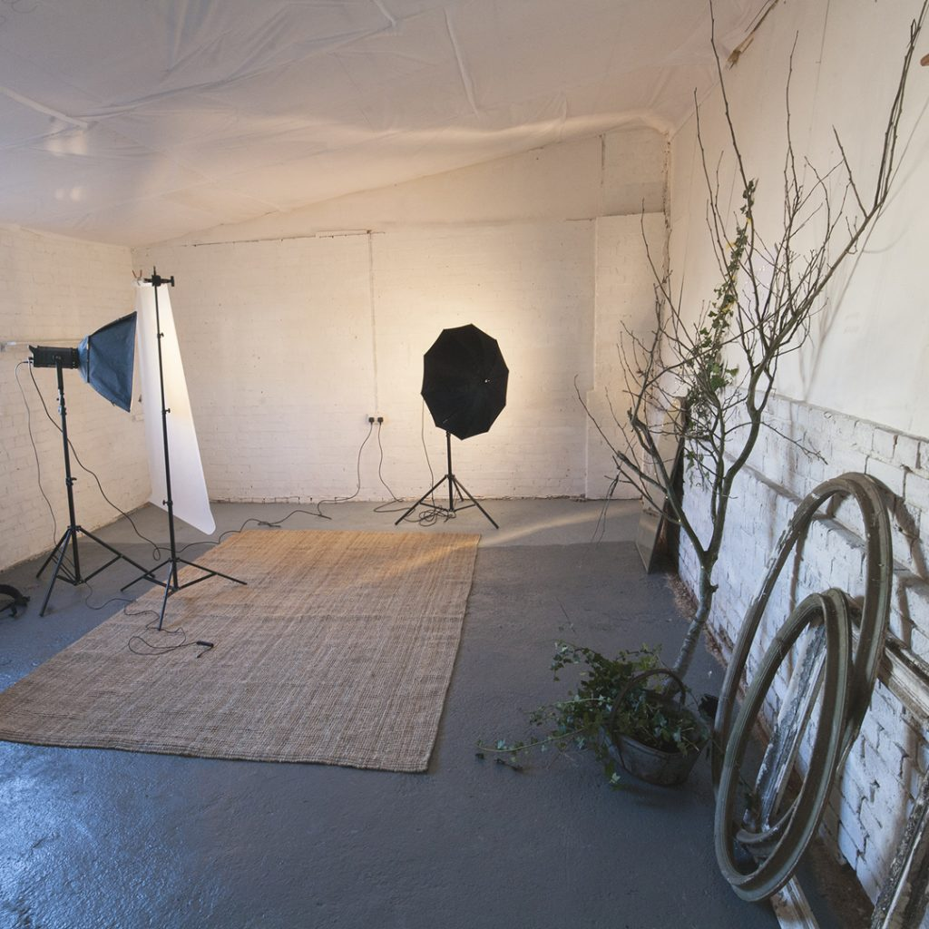 Duck duck goose studio space for hire set up for as a photography studio