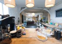 Interior of Duck Duck Goose Cafe by Eleanor Skan